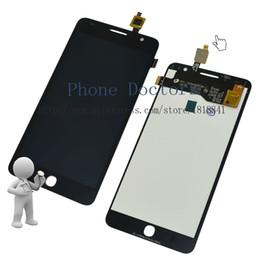 Promotion nouveaux écrans lcd Écran à cristaux liquides de DIsplay + Écran tactile plein écran pour Alcatel One Touch Pop Star 3G OT5022 OT 5022 OT-5022 5022X 5022D Noir;
