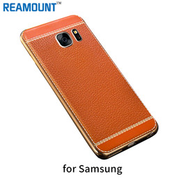 Fashion Style Litchi Grain 3D Relief Leather Case Cover for Samsung J3 prime for Samsung J5 2015 J7 2015 Mobile Phone Case Cover