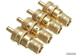 Wholesale 4 pieces set Tyre Deflator for car tire from PSI Adjustable Deflator Kit Brass Off Road Automatic Tyre