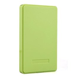 Wholesale Best Seller Green External Enclosure for Hard Drive Disk Usb Sata Hdd Portable Case quot Inch Support TB Hard Drive