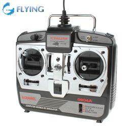 Wholesale JTL A Computer Model XTR RC CH USB Flight Training Simulator Equipment Airplanes Helicopter Remote Control Simulator