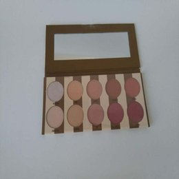 Wholesale 10 color eye shadow palette kit dry powder face cosmetic waterproof long lasting hot newly in stock