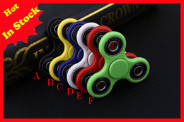 2017 EDC Fidget Spinner toy finger spinner toy Hand tri spinner HandSpinner EDC Toy For Decompression Top Quality In Stock Free Shipping