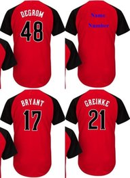 2015 ALL STAR GAME Baseball Jersey 54 Aroldis Chapman National League Red 31 Joc Pederson 22 Andrew McCutchen Jerseys Custom any Name & NO.