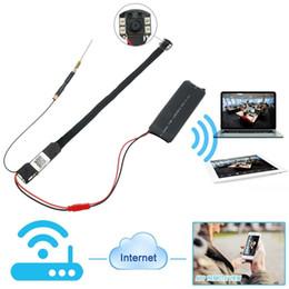Wholesale HD P2P Spy Camera DIY Mini Wifi Module Hidden Camera Night Vision Video Recorder DV Camcorder for IOS Android APP Remote View