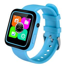 2017 dispositivo de niño perdido 2017 El más nuevo GPS F9 Smart Watch pantalla táctil de posicionamiento de los niños SOS Llame localizador de localización Seguimiento del dispositivo Kid Safe Anti Lost Monitor dispositivo de niño perdido en oferta