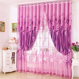 Wholesale Children curtain shade boy girl room fresh bedroom living room bay window short curtains finished floor windows no3