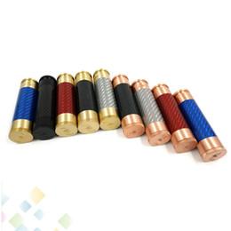 AV Able Mod Carbon Fiber Mechanical Mod AV Style E Cigarette fit 18650 battery 510 Atomizers High quality DHL Free