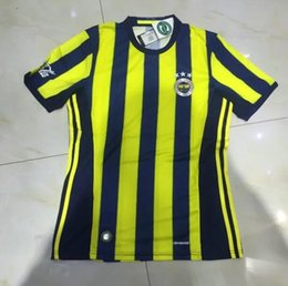 Wholesale Best Quality home jersey V RERSIE Turkish club Fenerbahce jersey Fenerbahce shirts