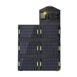 Оптовая-? Портативный складной 21W двойной USB-порт солнечной зарядки мобильного телефона власти MP3 MP4 GPS-камера игры солнечные панели Наружная зарядка от Производители панель раз