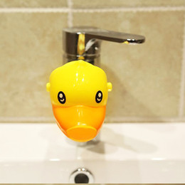 New Arrival Cute Cartoon Animal Faucet Extender For Kid Children Hand Washing In Bathroom Sink 3 Colors