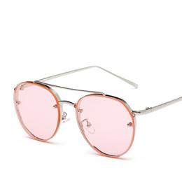 Compra Online Gafas de sol de color rosa-Las gafas de sol rosadas de los vidrios de sol de RBS16073 UV400 califican las gafas de sol para las mujeres califican las gafas de sol del diseñador del rayo 1 PC liberan el envío con la caja
