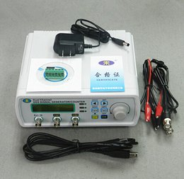 Wholesale MHS A High Precision Digital DDS Dual channel Signal Source Generator Arbitrary Waveform Frequency Meter MSa s MHz