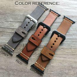 Mulilai brand 2017 best strap Apple iWatch sports belt 38mm 42mm leather buckle strap wearable strap bracelet
