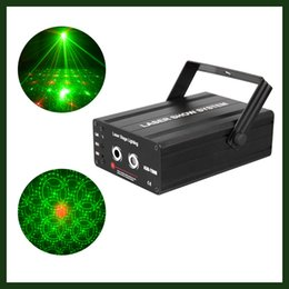 Wholesale Mini Stage Laser Light Red Green Patterns Laser Stage Lighting Projector DJ Disco Party Lighting with Remote controller
