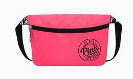 Women VS PINK Handbags Waist Bag Victoria Love Letter Travel Sports Multifunction Purse Secret Waterproof Nylon Beach Belt Bags