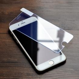 Descuento pantallas digitales Premium para Iphone 7 6s más la galaxia de cristal templada S7 S6 de la pantalla protege 2.5D 9H Anti-huella digital para el paquete al por menor de Iphone 5 note5
