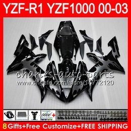 8Gift 23Color Body For YAMAHA YZF1000 YZFR1 02 03 00 01 YZF-R1000 62HM8 Silcer flames YZF 1000 R 1 YZF-R1 YZF R1 2002 2003 2000 2001 Fairing