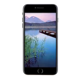 Wholesale Aluminum Alloy Matt Black inch Goophone i7 Plus V4 Clone G WCDMA Quad Core MTK6580 GB GB GB Android Nano Sim GPS Smartphone