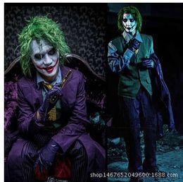 Wholesale Costumes Men s Batman Dark Knight The Joker Deluxe Adult Costume SWISSANT
