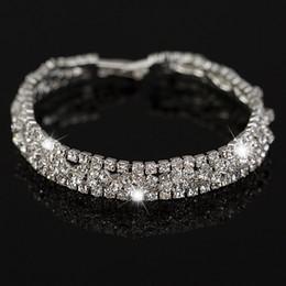 New Fashion Silver Plated Best Quality Austrian Crystal Bracelete Women Jewelry bracelet Free shipping