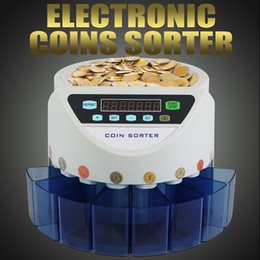 Wholesale UK Coin Counter Sorter Automatic Money Cash Counting Machine for Restaurant Shop