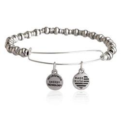 Wholesale Alex and Ani Bangle Bar Nile Bangle Bracelet Vintage Beaded Adjustable Jewelry Animation Movie Charm Bracelets For Women