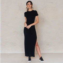 Plus Size Long Women Party Dresses Short Sleeve Office Casual Maxi Summer Dresses Vestido De Renda Sexy Dress Black Top 2017 New 50F0080