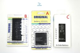 Wholesale Retail Package Packet For Mobile Phone Batteries Samsung iPhone Nokia HTC LG Huawei Blackberry All Kinds Phone Battery packing