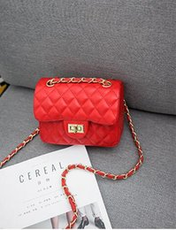 New Ms Han edition chain shoulder his joker mini small small sweet wind ling chain bag