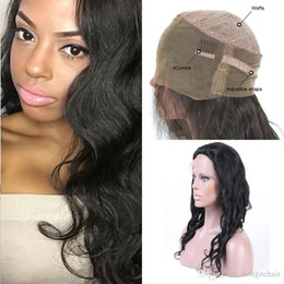 Brazilian unprocessed virgin human hair High Quality Pre Plucked Full Lace Wigs Natural Wave With Baby Hair Natural Hairline Free Shipping