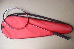 Wholesale N90 first version badminton rackets N90 nano carbon badminton racquet free shipment