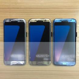 2017 pantallas digitales El correo libre del clon S7 de DHL curvó el teléfono móvil androide de la pantalla 5.5inch de los teléfonos celulares androides verdaderos de la base 4G LTE 64GB Rom HDC económico pantallas digitales