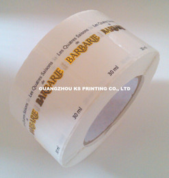 Gold foil stickers, Hot stamping labels, Custom adhesive labels, Stickers on rolls, Color printing labels