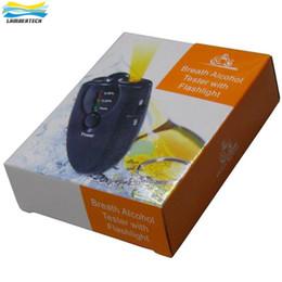 Testeur d'alcool numérique à haute sensibilité Indicateur LED à 3 étapes Analyseur de respiration Portable Breathalyzer Keychain Alcool Moniteur à partir de alcool trousseau fabricateur