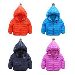New 3 to 8 - year - old children in the young children down jacket girls embroidered badminton down jacket sportswear