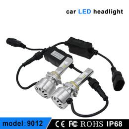 Super bright 9012 led bulbs 12-36V 36W 4800LM I7 Car LED Headlight 6000K 360 Degree LED Headlamp Light Bulbs Kit