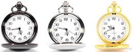 Wholesale 3Colors Quartz watches Chain Bronze pocket watches PW041