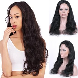 Brazilian Human Hair Full Lace Wigs Virgin Hair Body Wave Glueless Full Lace Wigs For Black Women Lace Front Wigs With Baby Hair