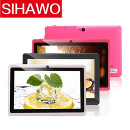SIHAWO eXpro X1 7'' Tablet Android 4.4 Quad Core 1.5GHz 16GB ROM Dual Camera 1024x600 Tablet PC Support OTG WIFI With Multi Color