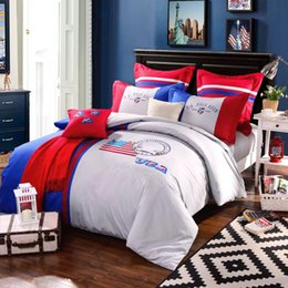 Wholesale The Design and Application of American Flag in Bedding sets Let your bedroom more unique