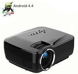 .Newest portatif Mini LED Pocket Micro HD Android WIFI Led projecteur multimédia, parfait cinéma maison Projecteur de cinéma vidéo à partir de nouveaux jeux vidéo fournisseurs