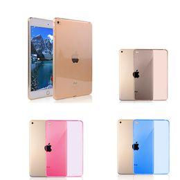 Soft TPU Case for iPad Mini 4 High Quality Transparent Slim Rubber Skin Whole Wrapping Back Cover for Ipad Mini 4