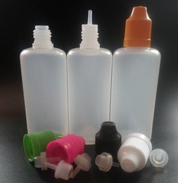LDPE 60ml Plastic Dropper Bottle With Childproof Cap And Long Thin Dropper Tip Empty plastic Bottle for Ejuice In Stock
