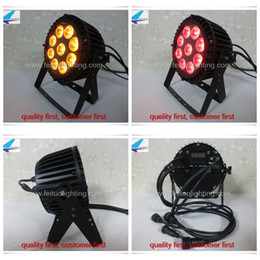 Wholesale 12 piece China Supplier Led Stage Light IP65 Par Can Light Outdoor With Waterproof x18w RGBWA UV in1 Par