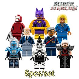 2017 Newest Educational Blocks Gordon Alfred Kabuki Cnins Mr. Freeze Super Heroes Star Wars Avengers Building Bricks Kids Toys PG8039