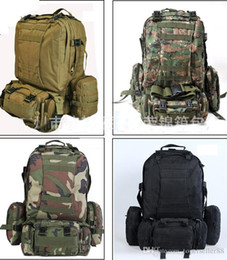 50L Large Molle Tactical 3 Day Assault Rucksacks Backpack Outdoor Camping mountaineering Bag