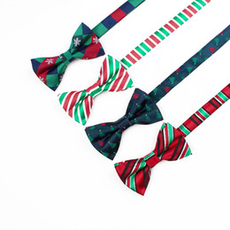 Free Shipping TIESET Christmas 2017 New Bow Tie Christmas Element Bow Tie Christmas Tree Candy Snowflake Gift For Man