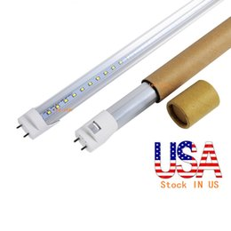 Wholesale Stock In US bi pin ft led t8 tubes Light W W W Led Fluorescent Lamp Replace regular Tube AC V UL FCC