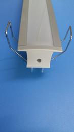 Wholesale NEW Arrival Hot m China Supplier Aluminum Rigid Strip Light Aluminium LED Profile Rigid Aluminun Housing